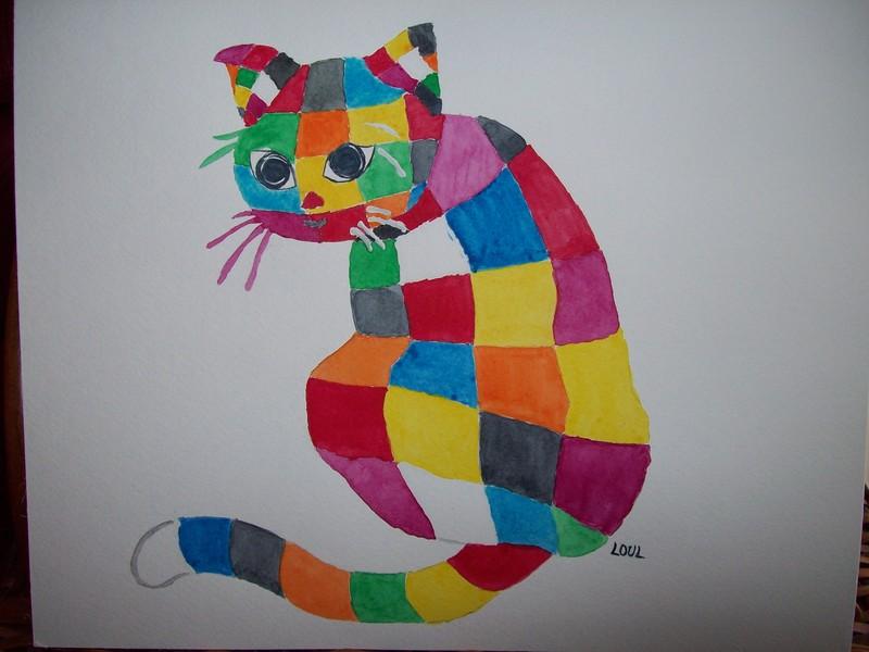 Les chats - Tableau de chat moderne ...